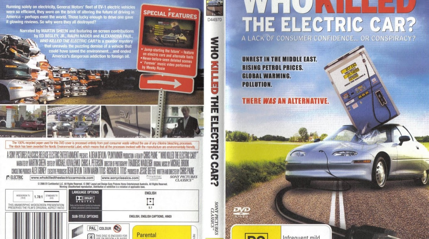 who killed the electric car 4 essay In the movie who killed electric car the narrator tells us a short, but outstanding history of ev1 produced by general motors corp the innovative concept of a car that does not consume oil and produces no exhaust fumes was initially approved by the government and california air resources.